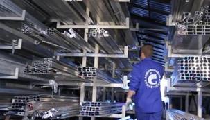 Видео производство алюминиевых конструкций компании Галион