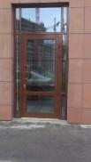 Входная дверь мазагина
