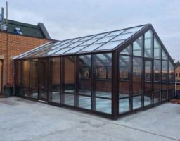 Зимний сад на крыше жилого дома, г. Химки