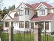 Алюминиевые окна загородный дом