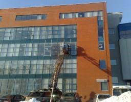 Алюминиевые окна офисного центра