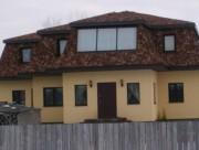 Алюминиевые окна загородный коттедж