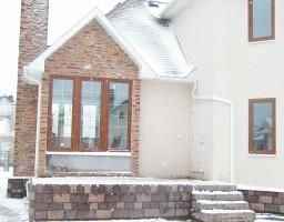 Алюминиевые окна в загородном доме