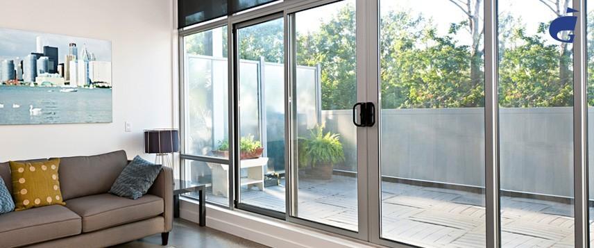 Алюминиевые двери: распашные, маятниковые, ...