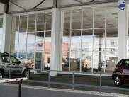 Остекления фасада автосалона «Крайслер»