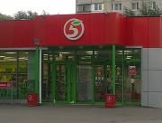 Замена витрин магазина «Пятерочка»