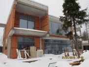 Остекление фасада загородного дома