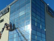 Остекление фасада д. Елино