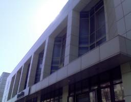 Фасад офисного здания завода