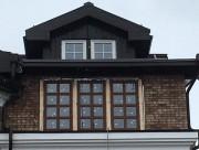 Алюминиевые окна коттедж