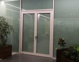 Офисная перегородка в бизнес центре на Ленинградском проспекте