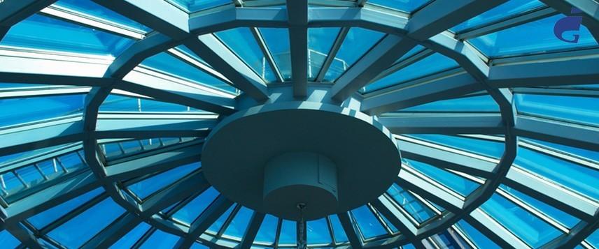 Зенитные фонари, купола, стеклянные крыши