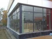 Остекление фасада ресторана