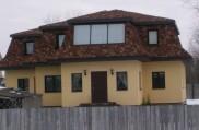 алюминиевые окна на крыше дома
