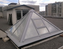 Крыша бизнес центра, ул. Крылатская, 17