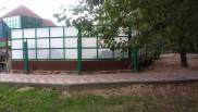 ограждение мусорной свалки. ул. Фестивальная, р-н Торгового центра