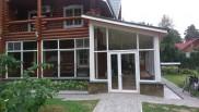 Веранда загородного дома в поселке Быково