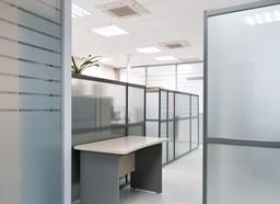 Алюминиевые конструкции: Офисные перегородки