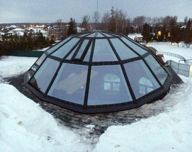 Светопрозрачный купол на