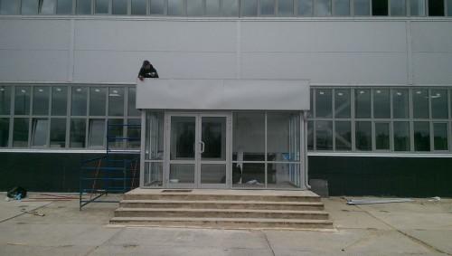 Фасад магазина на ул. Мик
