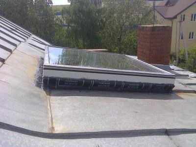 зенитный фонарь в крыше