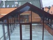Зимний сад на крыше жилого дома г. Химки